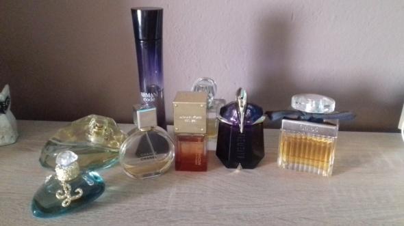 Perfumy Moja mała kolekcja