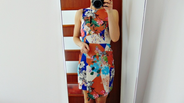 Suknie i sukienki Asos nowa kopertowa sukienka kolor