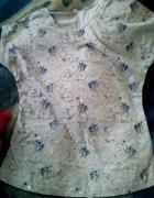 Koszulka bawełniana z nadrukiem rowerów