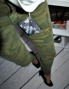 Zara Genialne moro spodnie Skiny 34 Hit