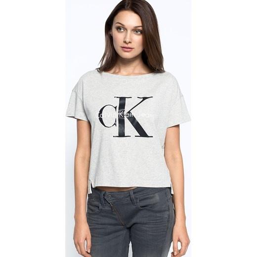 bluzka Calvin Klein szara...