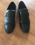 Loafers czarne...