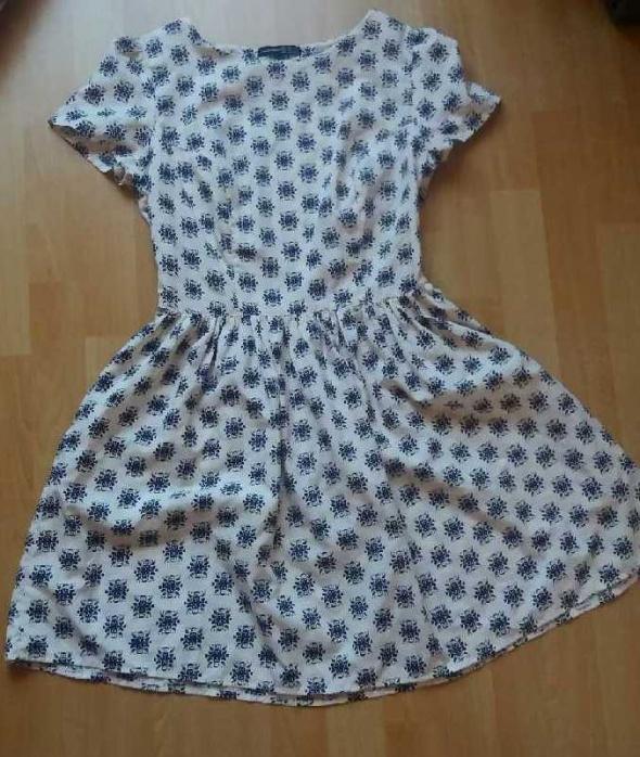 Suknie i sukienki Sukienka Atmosphere ecru r S