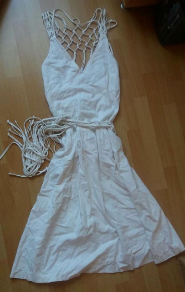 Suknie i sukienki Sukienka Zara r M pleciona