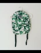plecak w liście leaf print nowy