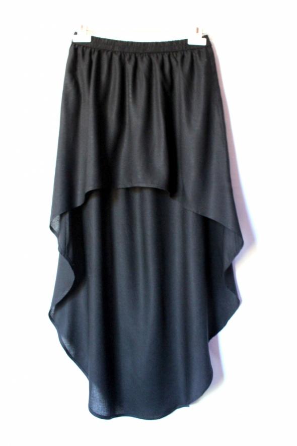 Spódnice Asymetryczna zwiewna sukienkadługi tył r S