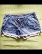 American Eagle szorty spodenki jeans strzępione