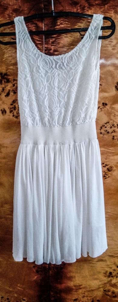 Suknie i sukienki Biała sukienka