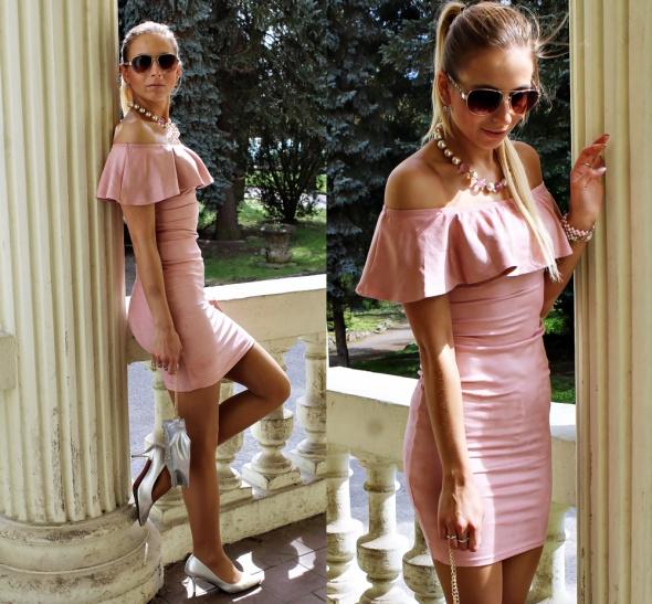 Blogerek Zamszowa sukienka
