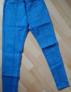 Tregginsy jeansy z przeszyciami r M