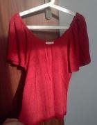 ORSAY czerwona bluzka 36s 38m