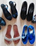 Botki klapki slip on pantofle...