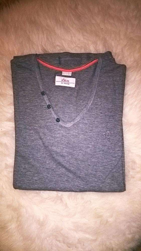 Koszulki i t-shirty Męski Tshirt w serek SOliver nowy