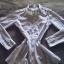 Śnieżnobiała koszula tunika House M