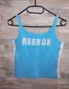Niebieska bokserka top Reebok...