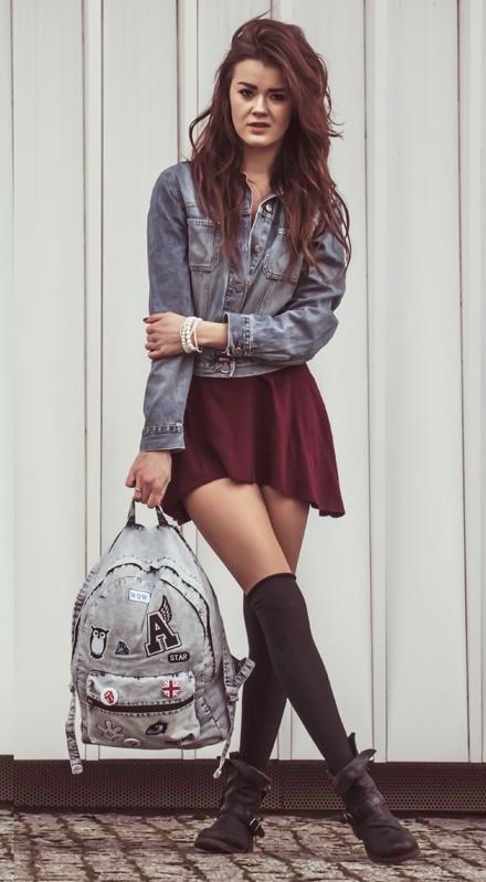 Mój styl Plecak vintage na lato