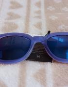 Okulary przeciwsłoneczne SINSAY niebieskie...