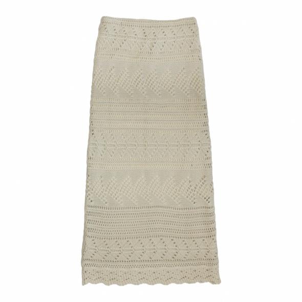 Spódnice Ażurowa wełniana spódnica SOLAR