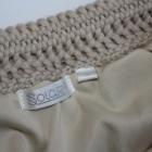 Ażurowa wełniana spódnica SOLAR