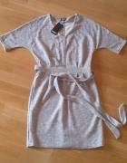 Sukienka szara rozmiar L