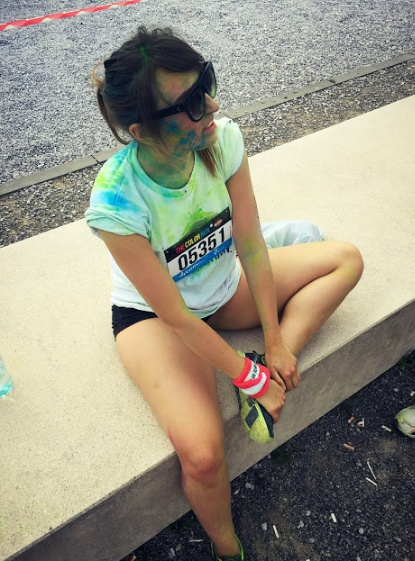 color run...