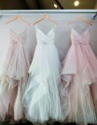Sukienka zwiewna letnia weselna