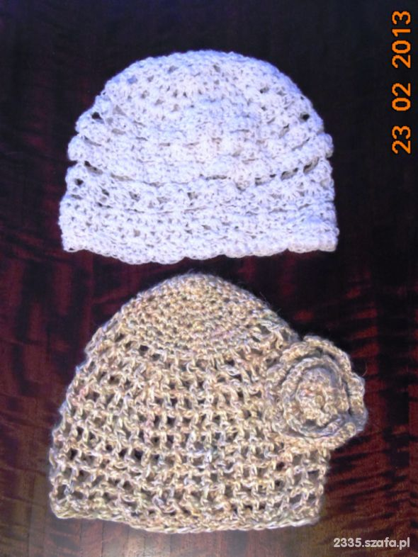 Nakrycia głowy czapki wiosenne