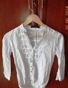 Koszula bluzka śliczna biała mgiełka