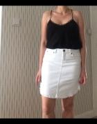 biała jeansowa spódnica VERO MODA rozmiar 38 M...
