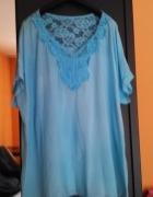 Błękitna bluzeczka oversize