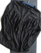 bluzka koronkowa falbany