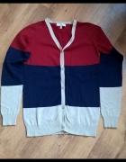 trzykolorowy sweterek...