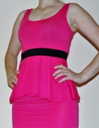 Seksowna różowa sukienka
