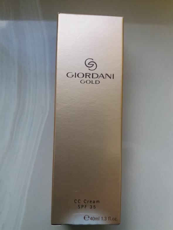 Twarz Krem CC Giordani Gold