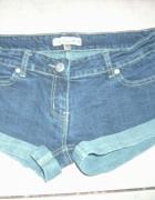 spodenki jeansowe S na M