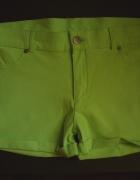 Spodenki Neonowe Soft Jeans S