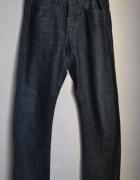 Nowe spodnie jeans męskie ciemny 30 34 Cropp