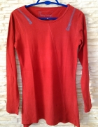 super wygodna czerwona bluzka na codzień...