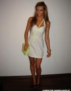 Bershka sukienka w kropki