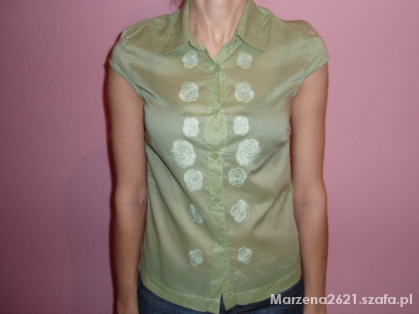 Koszule zielona koszula TATUUM rozmiar S