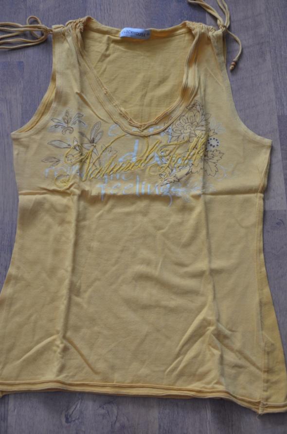 Bluzki Bluzeczka żółta lato