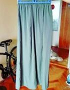 Długa zielona khaki spódnica do kostek 40...
