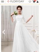 Sukienka maxi 36 na slub cywilny...