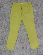 spodnie haremki z Orsay limonka M