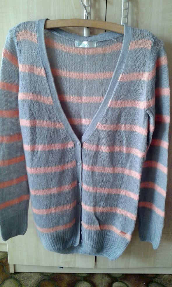 Swetry Sweter rozpinany Cropp L Fajny rozpinany sweter