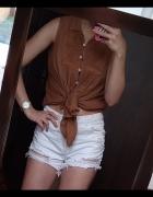 Ceglasta koszula