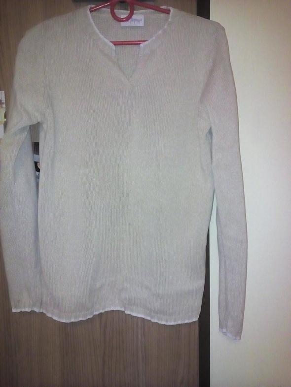 Beżowa bluzka rozmiar L