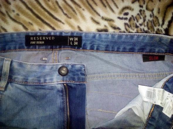 Spodnie Męskie jeansy rozmiar 34