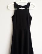 Czarna sukienka H&M xs