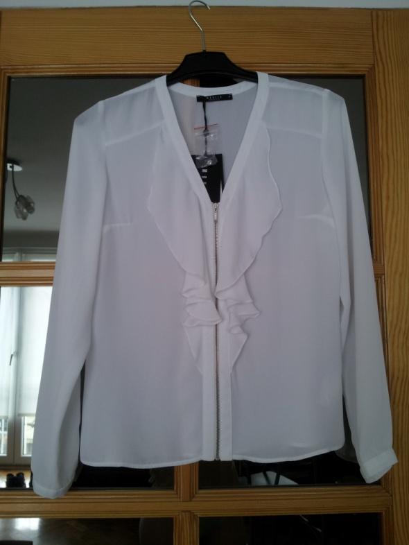 Bluzki biała bluzka mohito